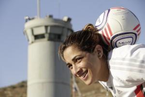 Walaa Hussein, Foto aus der Zeitung Die Welt