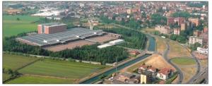 Das Standort von Mivar in Abbiategrasso, Quelle mivar.it